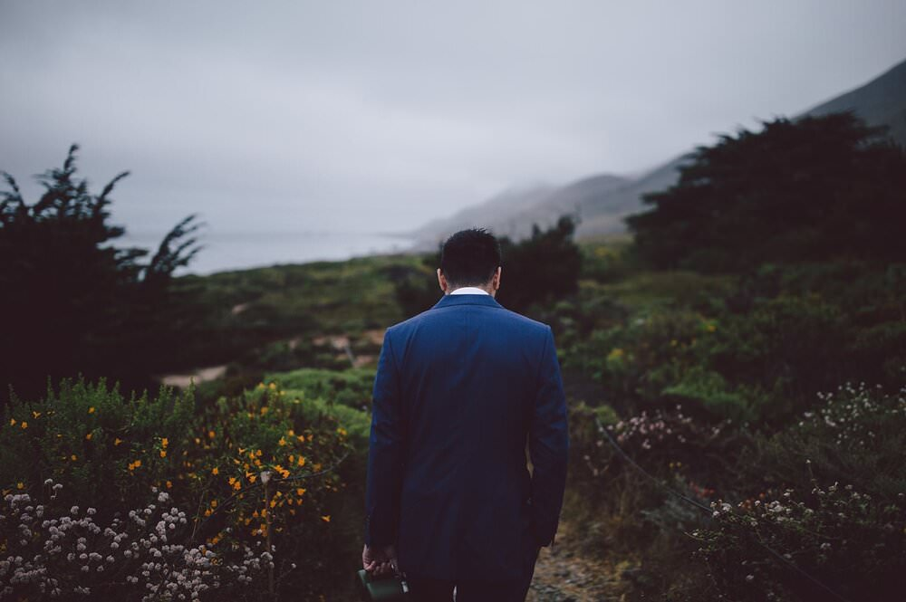 California elopement by the Coast on Big Sur