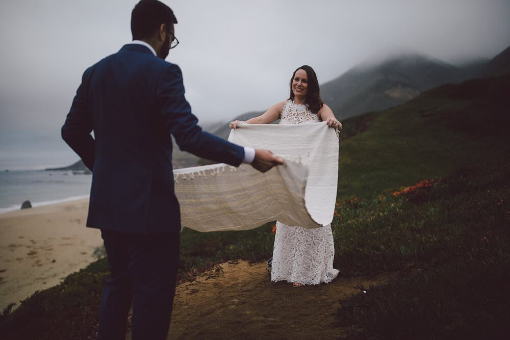 best places to elope in big sur, California