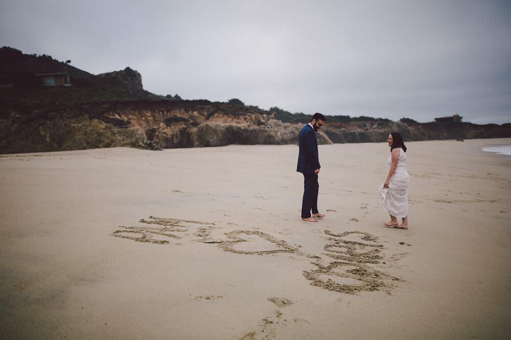 California destination elopement packages