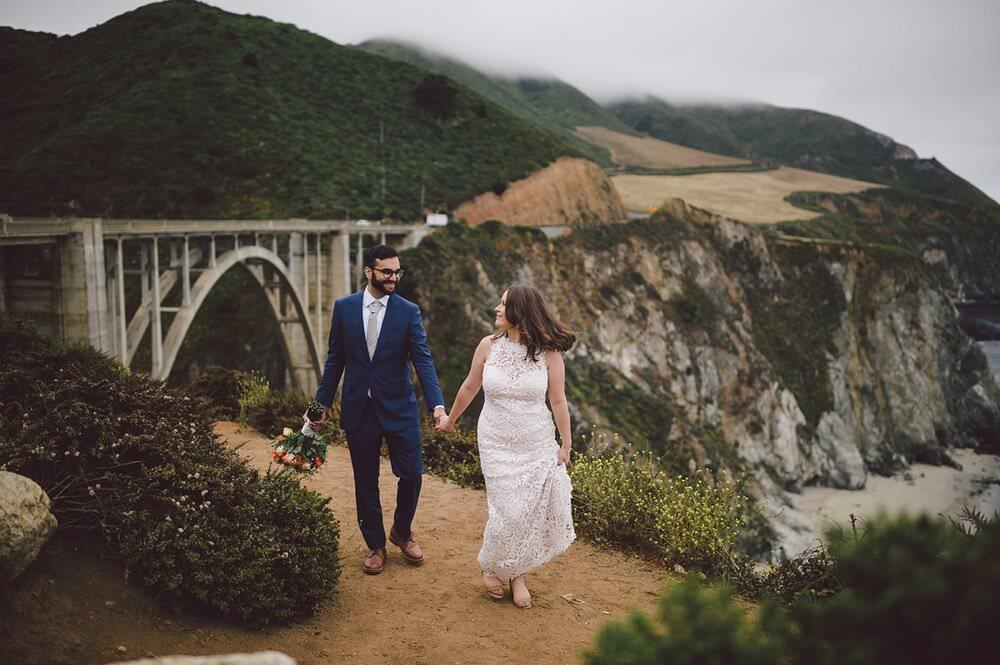 bixby bridge elopement ceremony