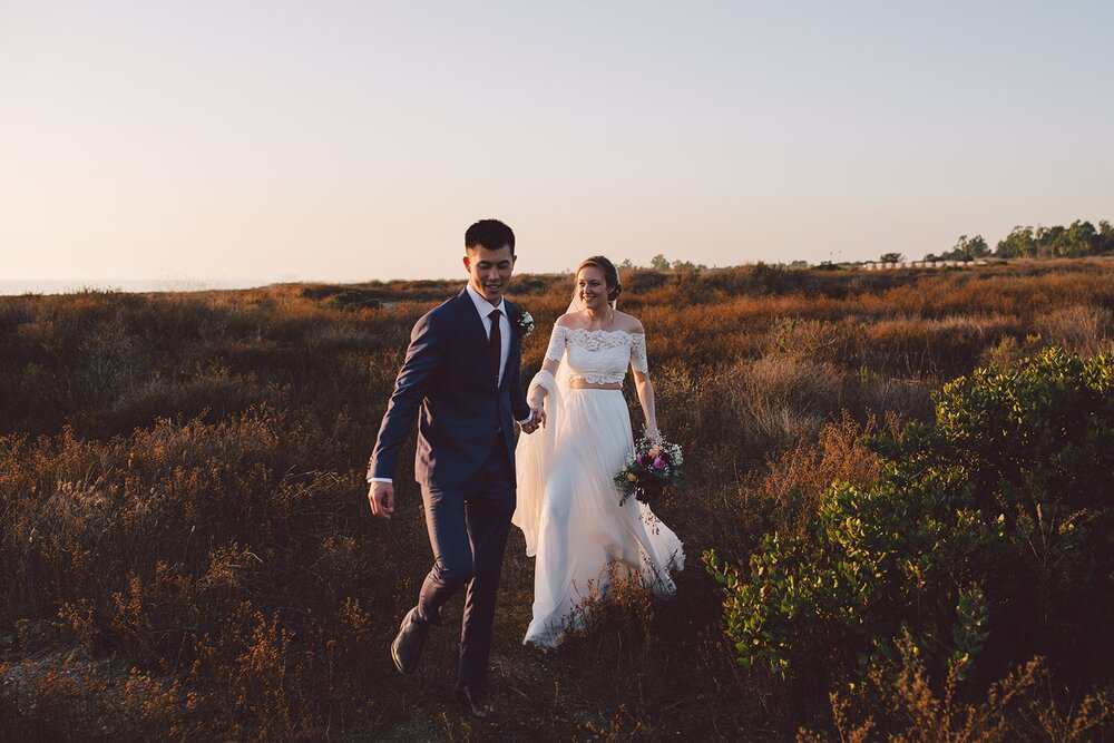 Los angeles wedding, where to elope in california, how to elope in los angeles, laguna beach elopement, laguna beach courthouse wedding, orange county wedding photographer, beach elopement locations, grace loves lace wedding dress, two piece wedding dress, california elopement packages, crystal cove state park, crystal cove wedding, california elopement ideas, elopement inspiration, adventure elopement ideas, sunset elopement, sunset wedding, adventure elopement location, national park elopement