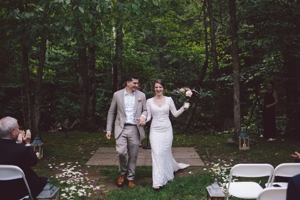 Full Moon Resort Catskill Mountains Intimate Wedding Photographer