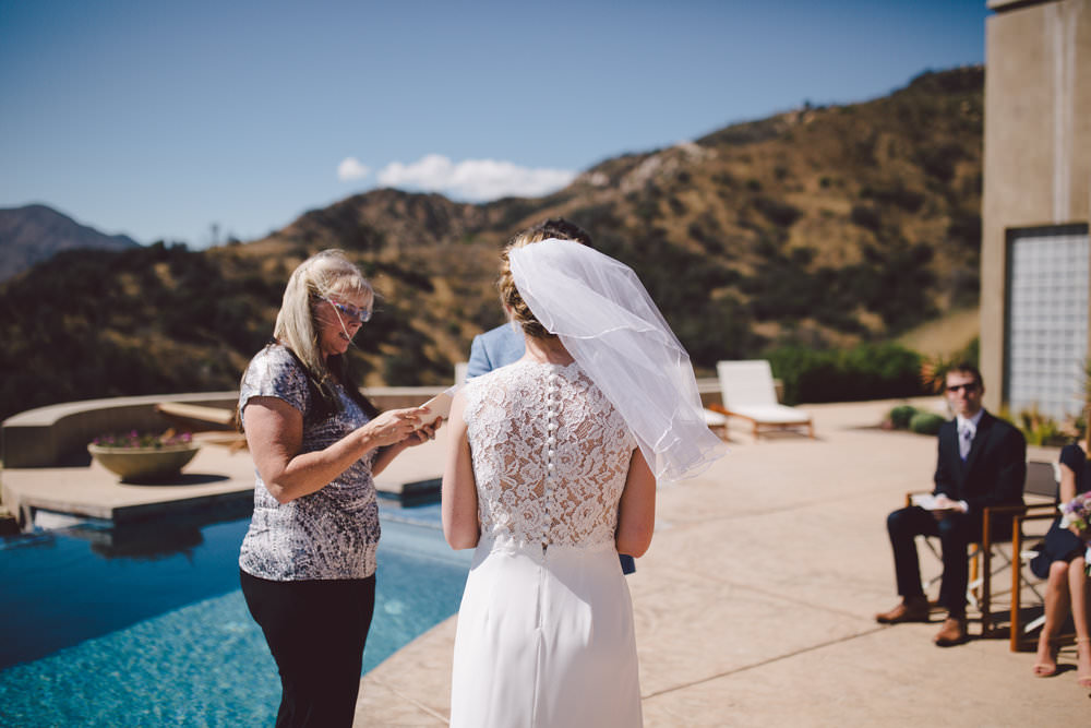 ojai california mountain outdoor private estate elopement wedding