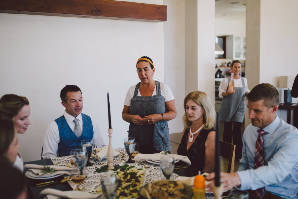 chef robin private estate ojai wedding dinner party