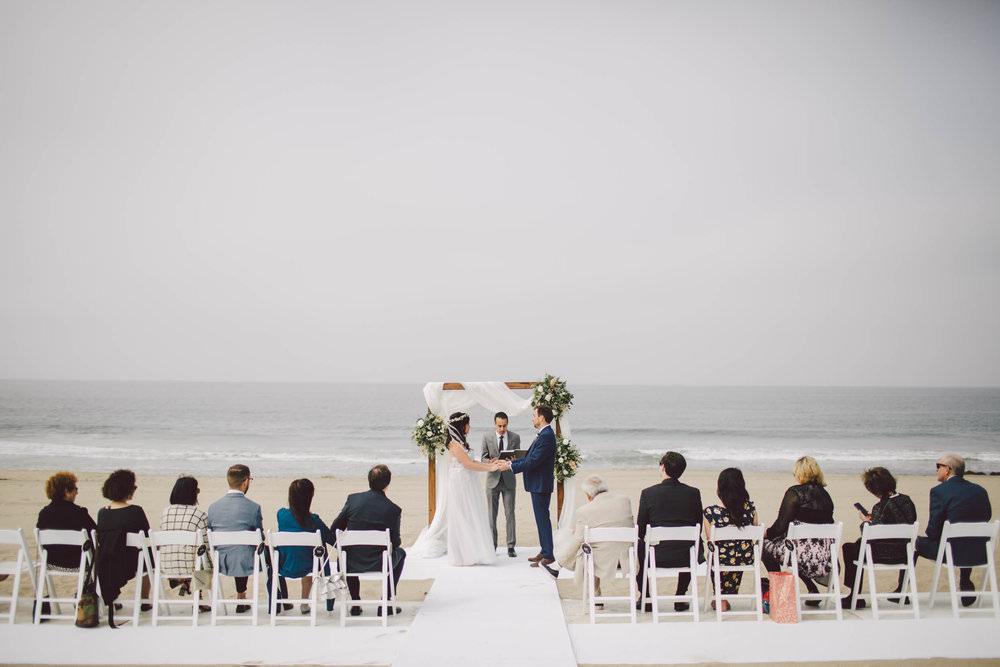 the sunset restaurant malibu wedding elopement